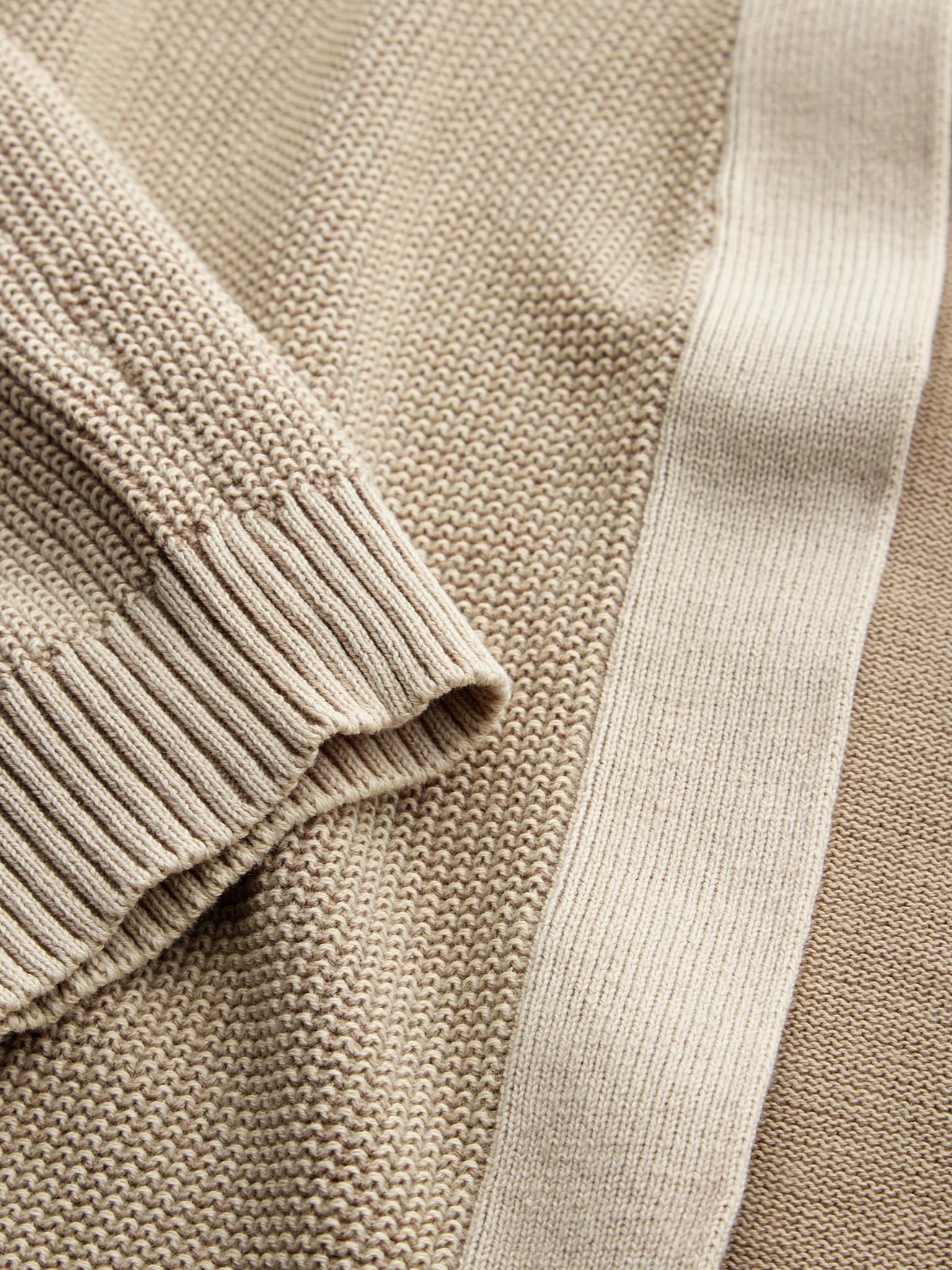 Textured Knit Cardigan - Warm Sand