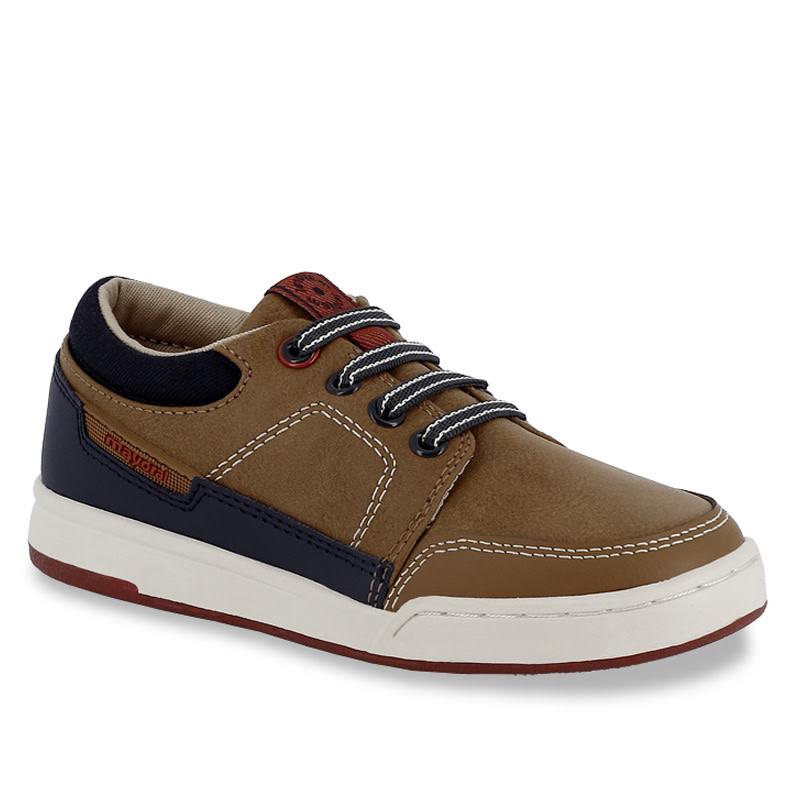 Boys City Sneaker - Cognac