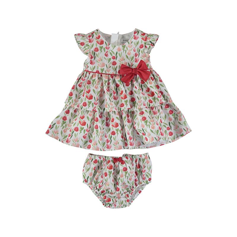 Poppies Dress & Bloomer Set