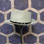 Fedora Style Hat - Grey with Black Belt