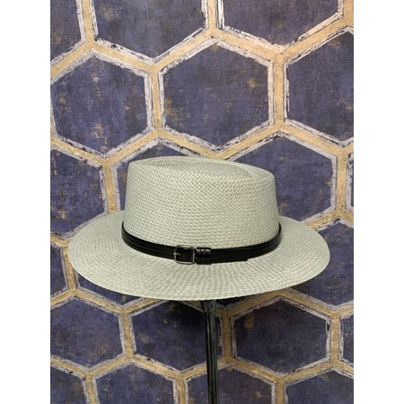 Western Style Hat with Pointed Crown