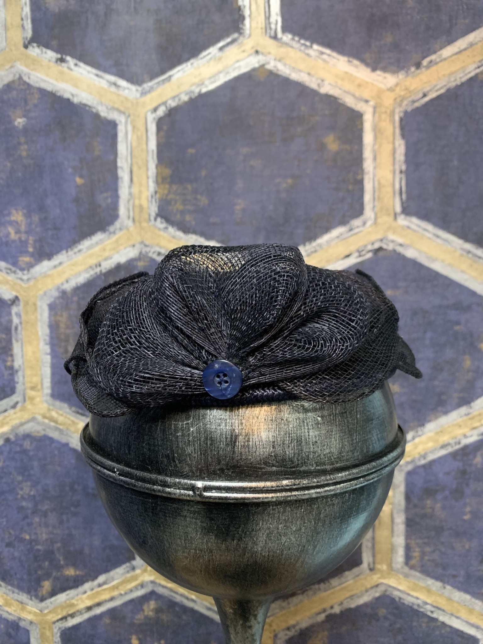 Fascinator Style Pillbox with Comb