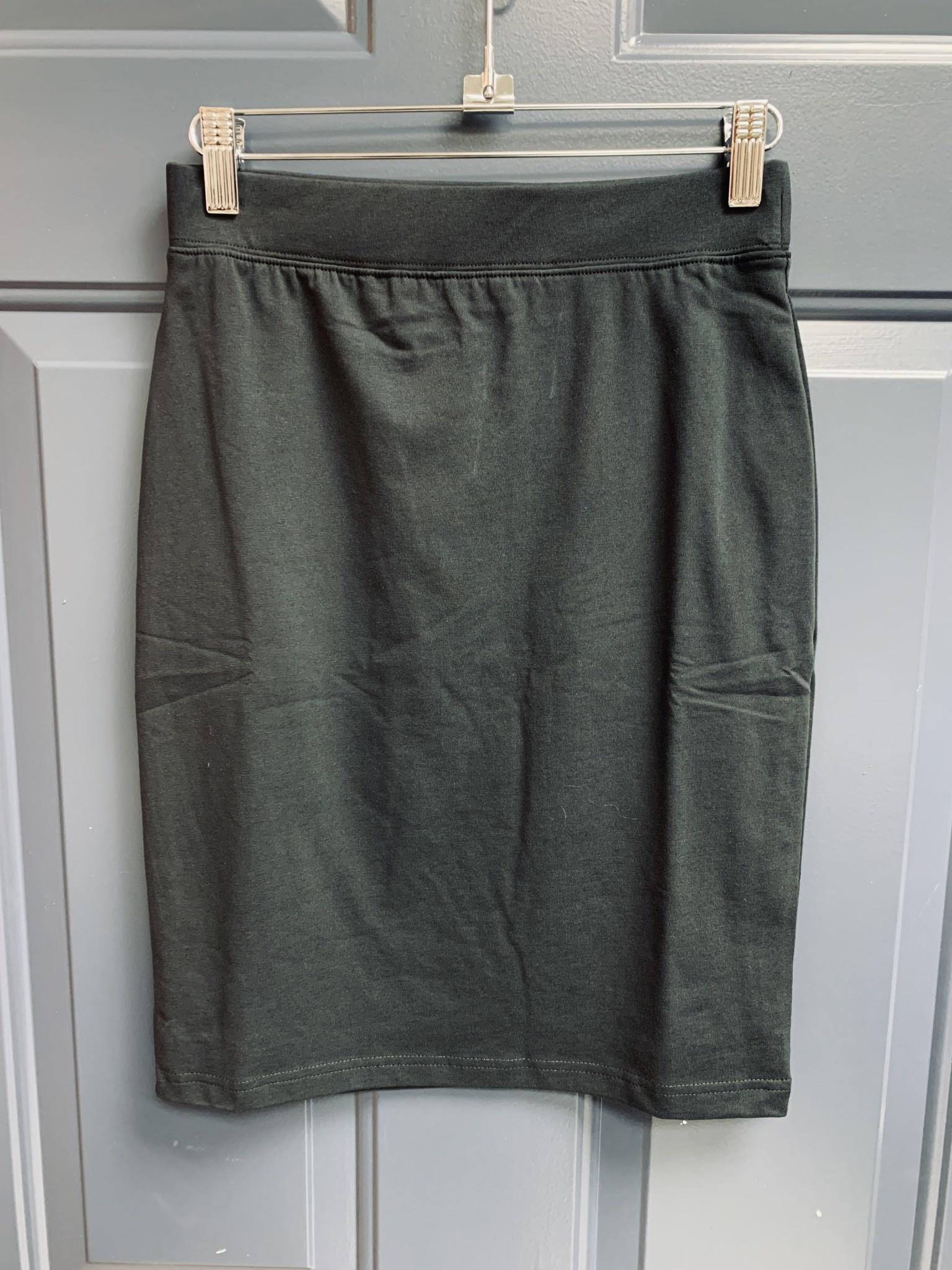 Basic Jersey Skirt - 60cm - Black