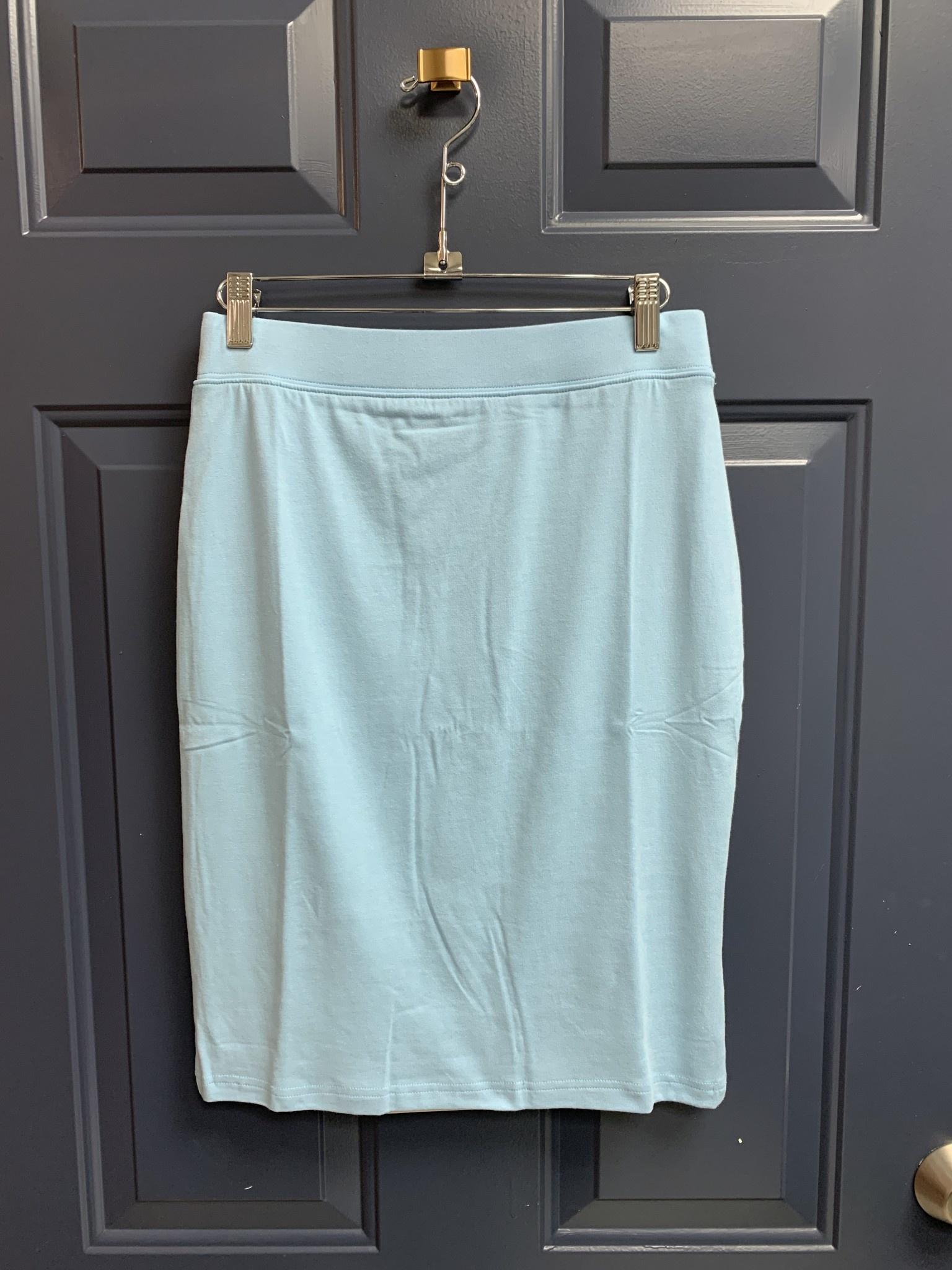 Basic Jersey Skirt - 60cm - Light Blue