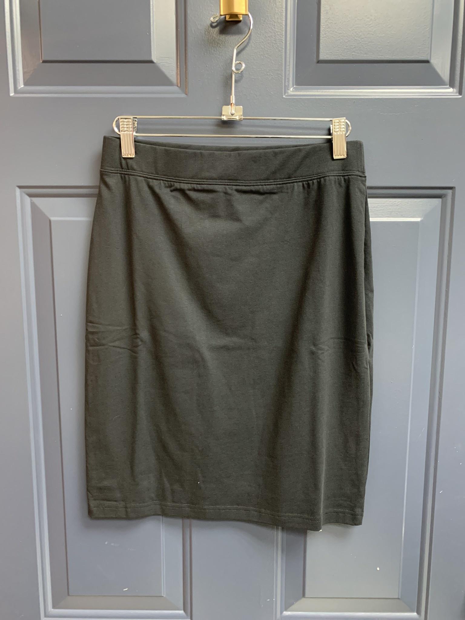 Basic Jersey Skirt - 54cm - Black