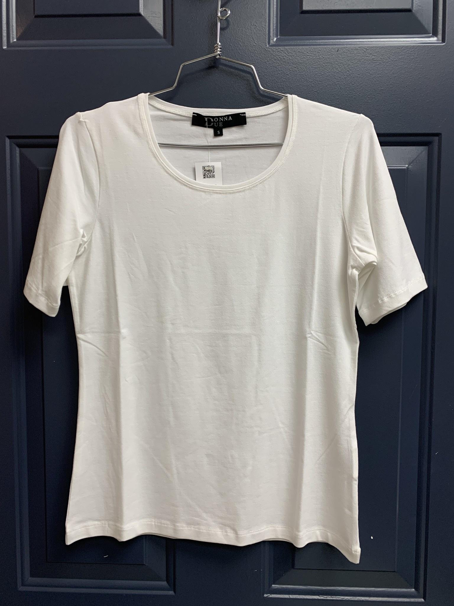 Basic Jersey Tee - White