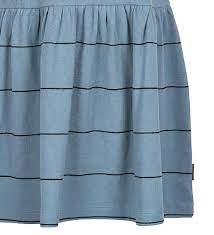 Rib Striped Dress - Infinity Sky