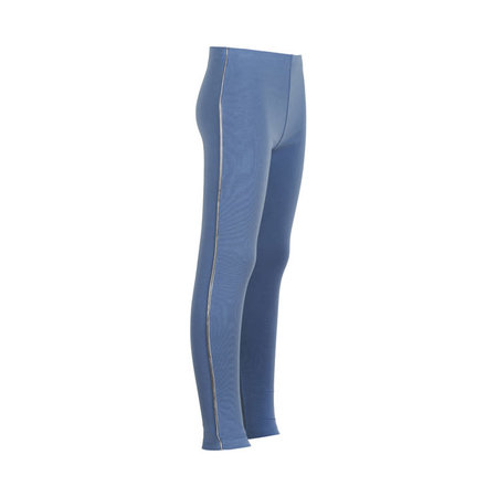 Legging with Lurex Piping - Infinity Sky