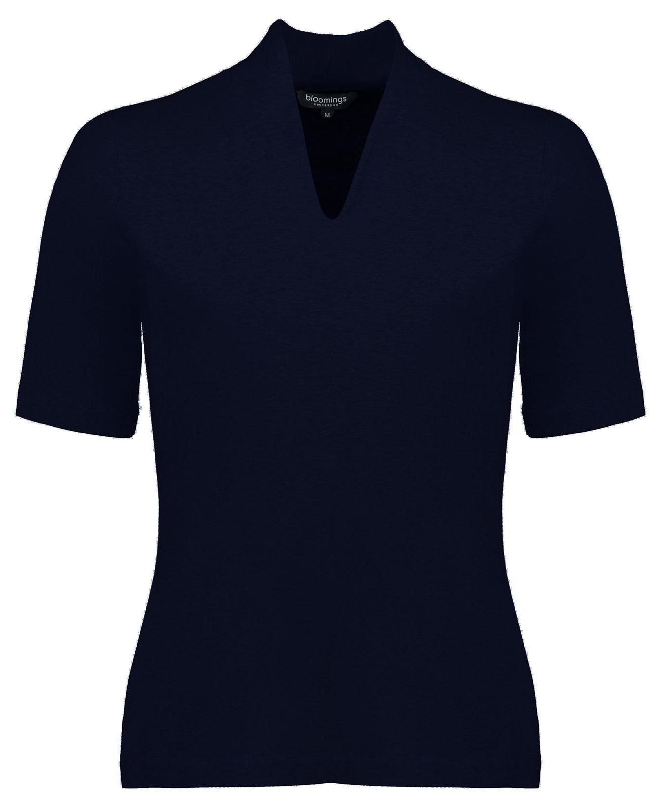 Tulip Collar Shirt - Navy