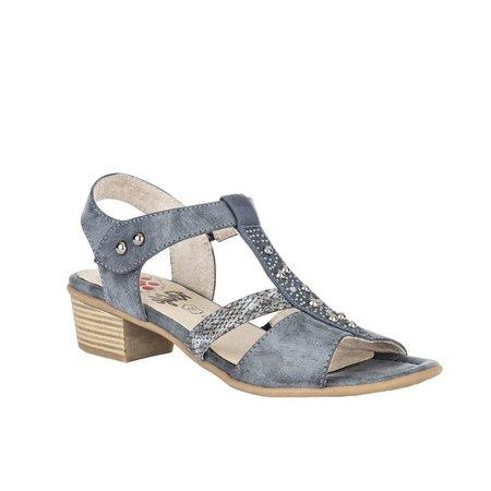 Ladies Mindy Navy Sandal