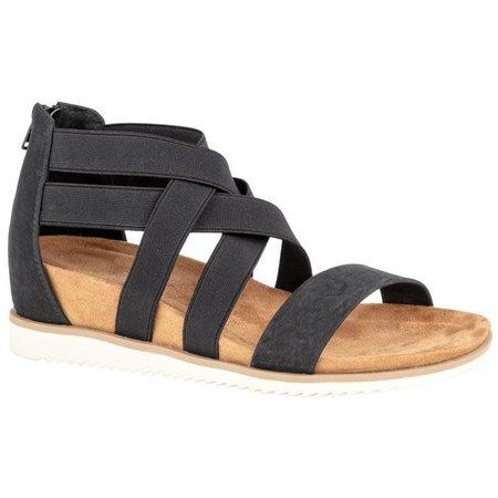 Ladies Janie Black Sandal