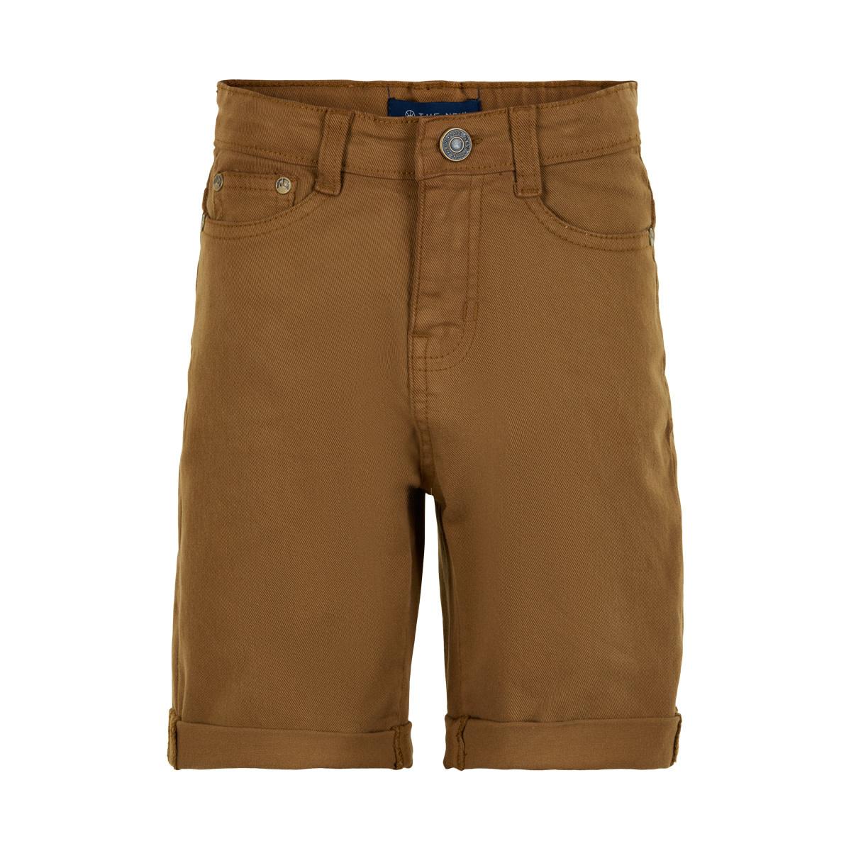 Une Shorts - Camel