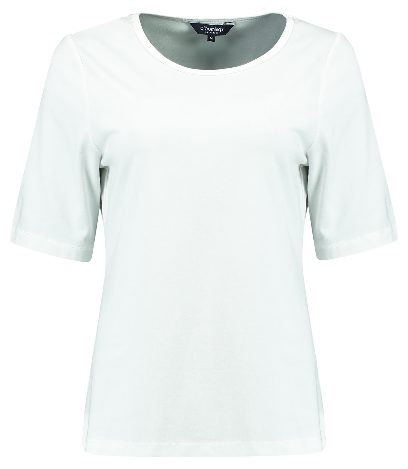 Crew Neck Shirt with Satin Piping - RWWB