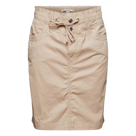 New Play Twill Skirt - Beige