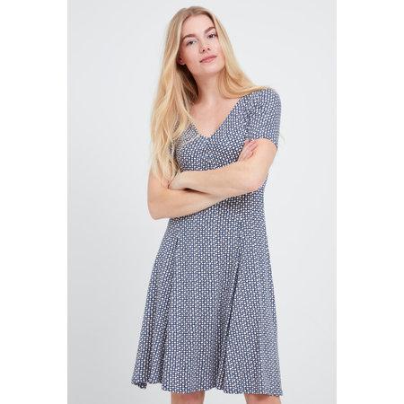 Amdot Dress - Vintage Indigo Mix