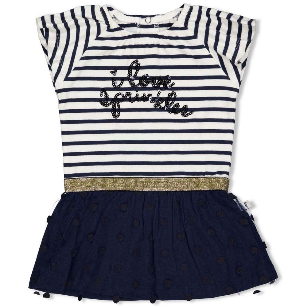 Stripe & Print Dress - Sweet Gelato