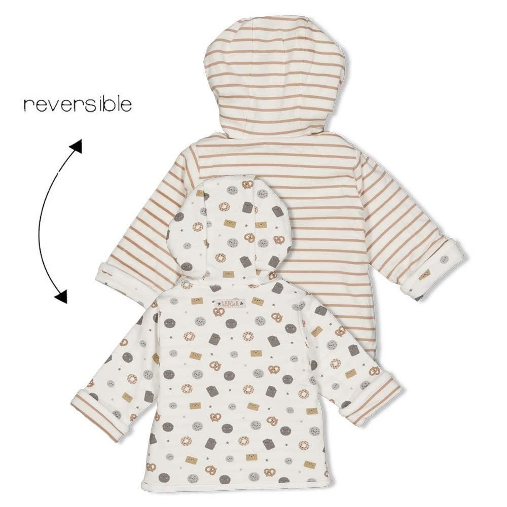 Reversible Jacket with Hood - Mini Cookie