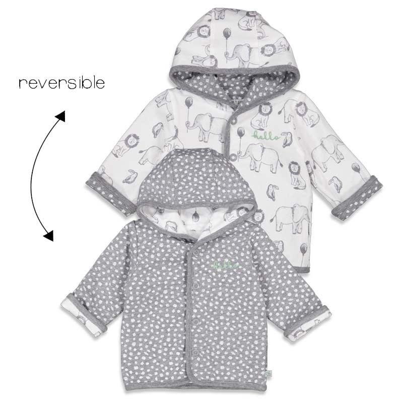 Reversible Jacket with Hood - Animal Friends
