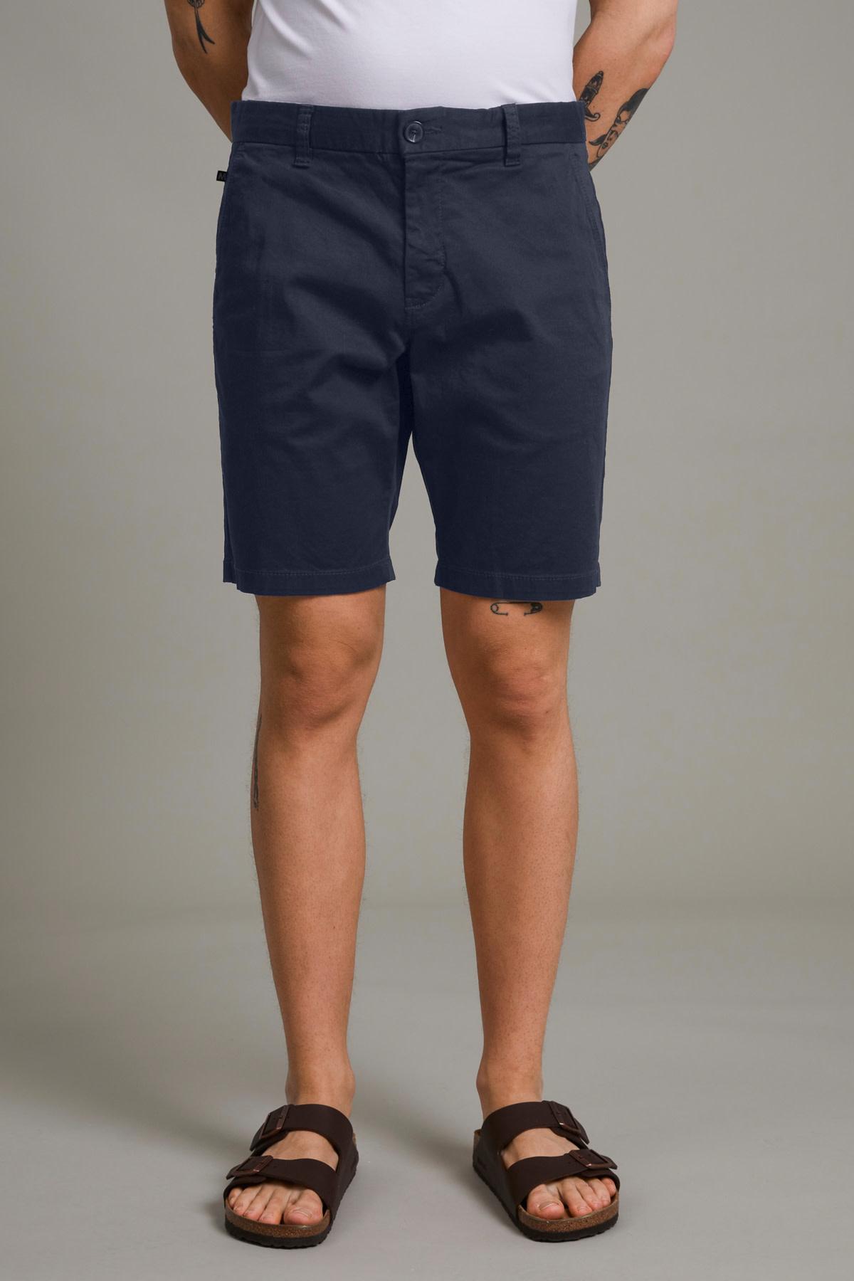 Pristu Chino Shorts - Dark Navy