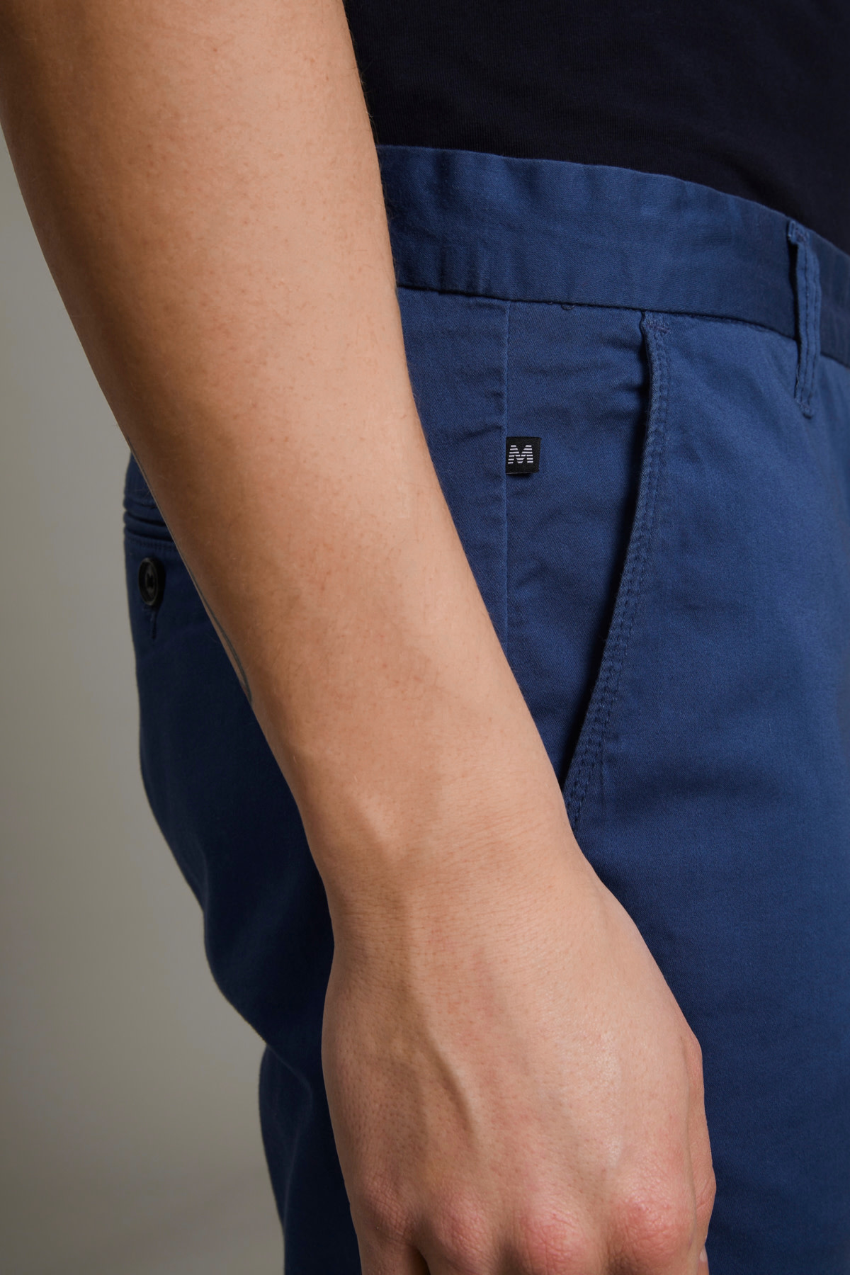 Pristu Chino Shorts - Dust Blue