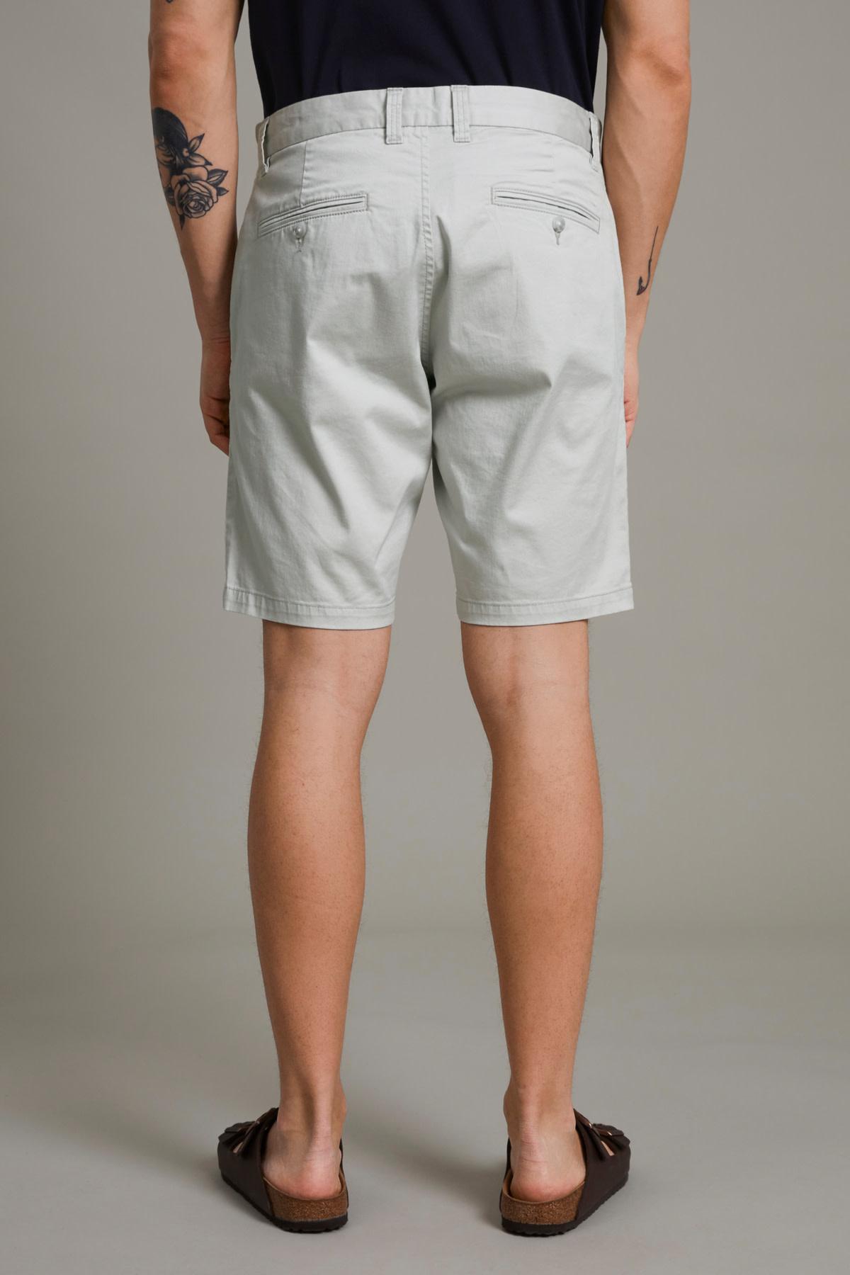 Pristu Chino Shorts - Lunar Rock