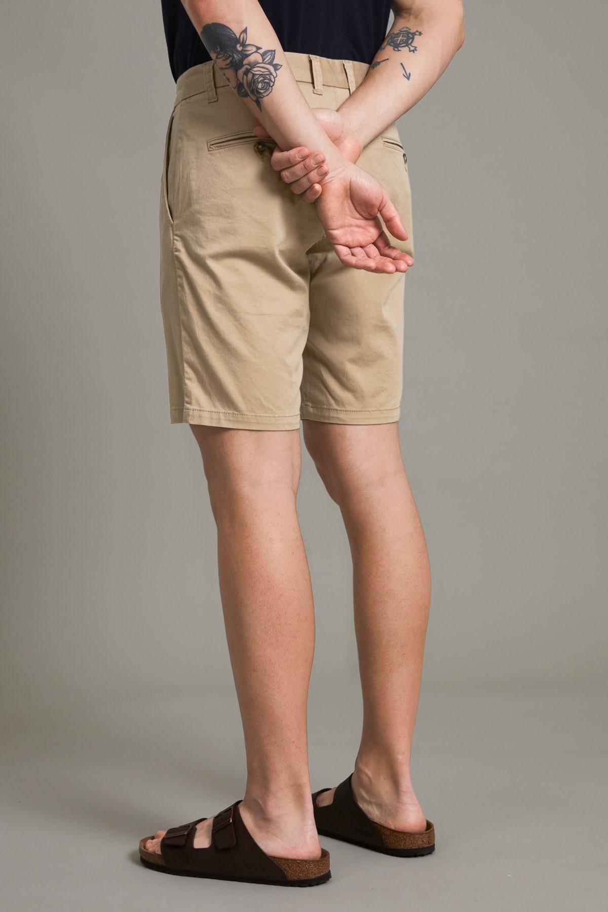 Pristu Chino Shorts - Light Beige
