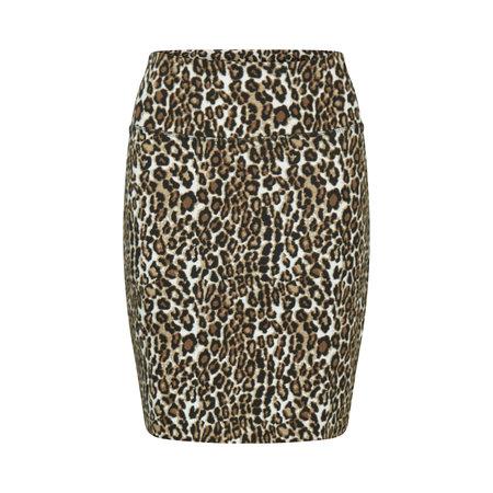 Penny Skirt - Leopard Print