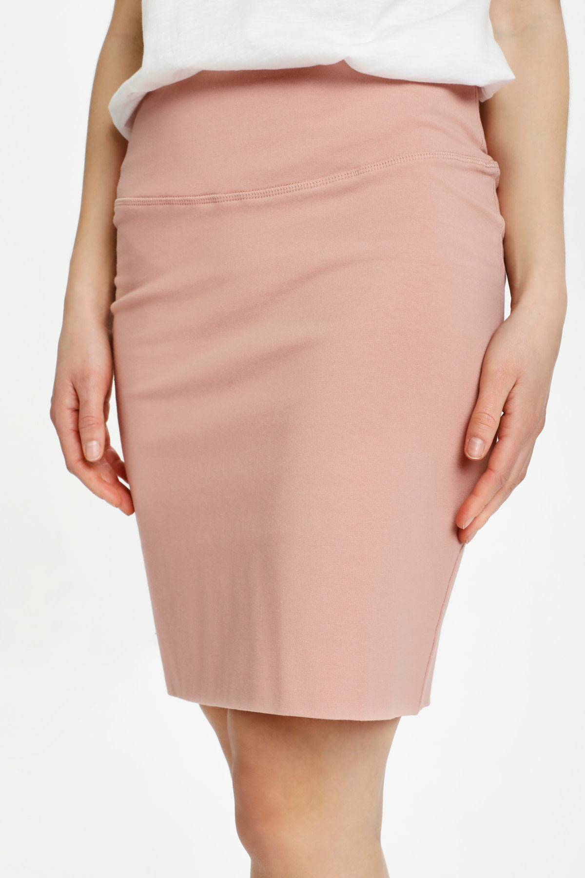 Penny Skirt - Misty Rose