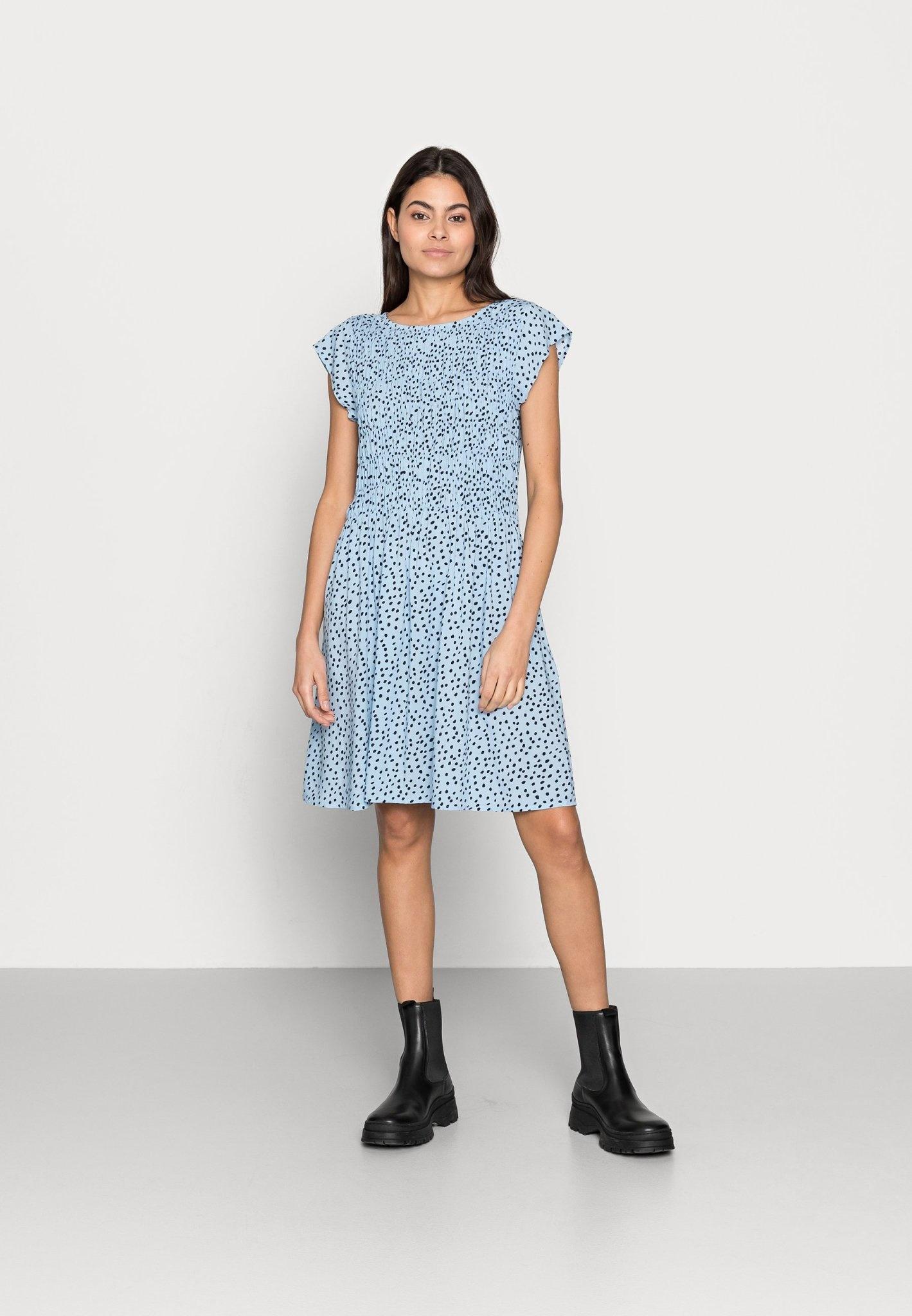 Gisla Dress - Cashmere Blue