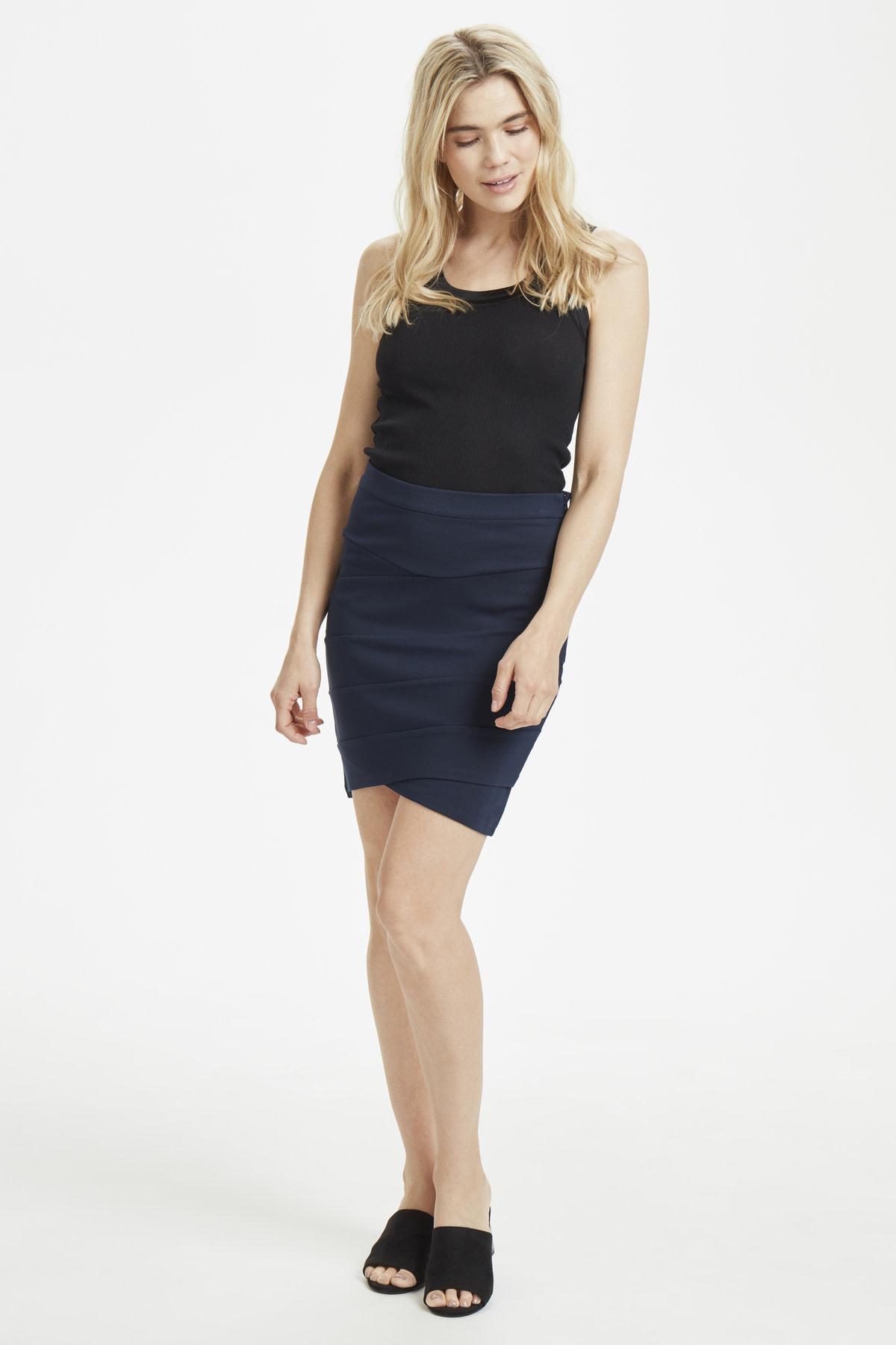 Nellie Skirt - Blue Deep