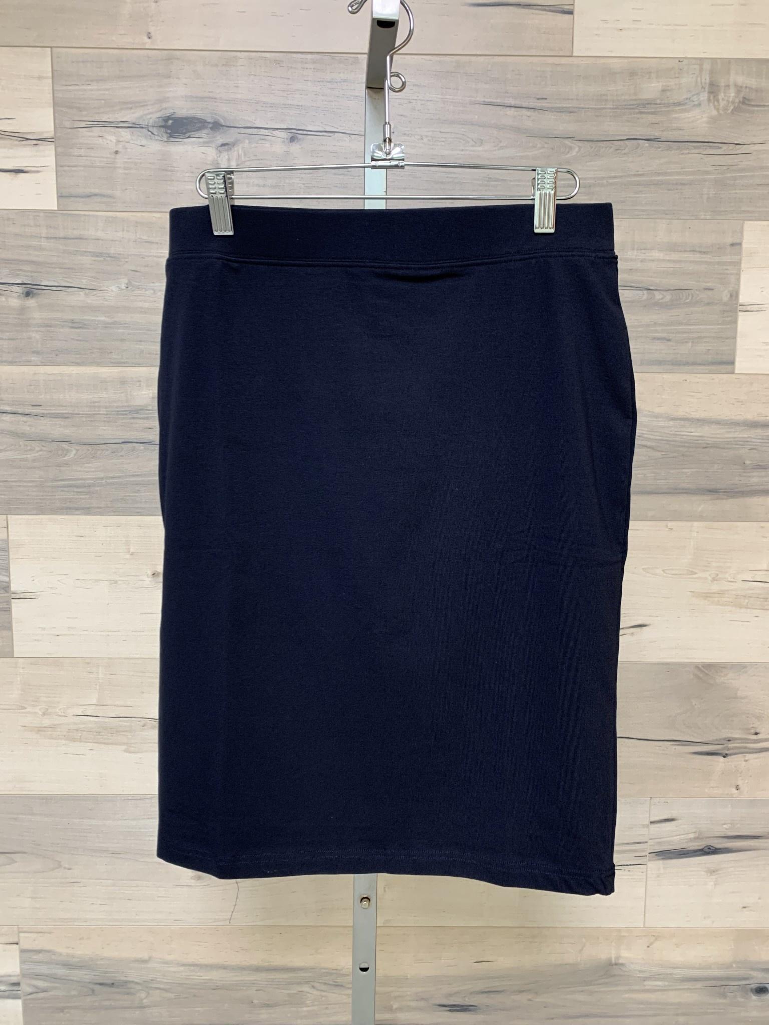 Basic Jersey Skirt - 60cm - Navy