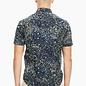Men's Short Sleeved Dress Shirt - Galaxy Print