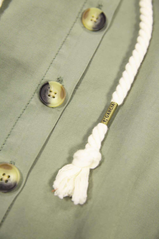 Paperbag Waist Skirt with Cord