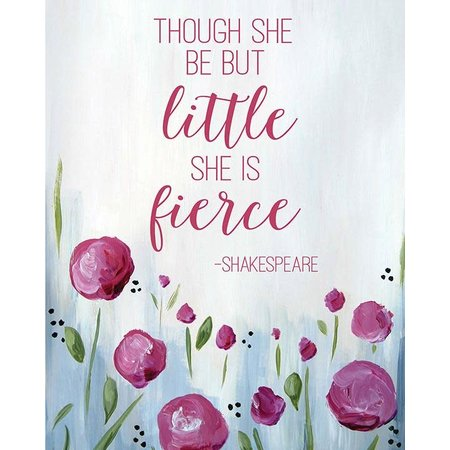 She is Fierce Mini Card