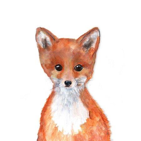 Fox Pup Mini Card