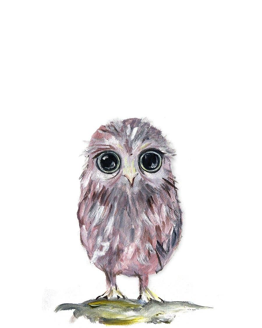 Owlet Mini Card