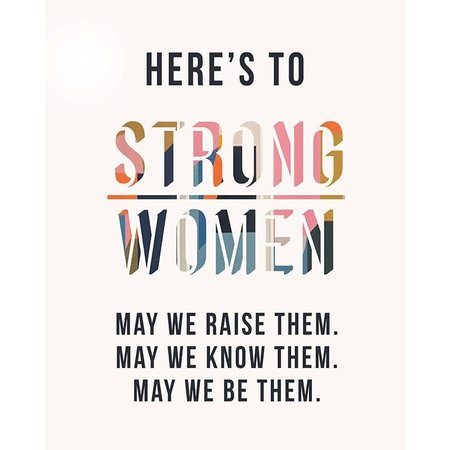 Strong Women Mini Card