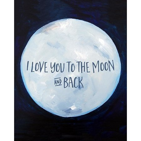 To the Moon and Back Mini Card