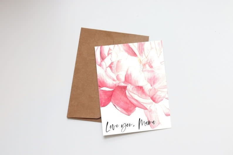 Love You, Mama Mini Card