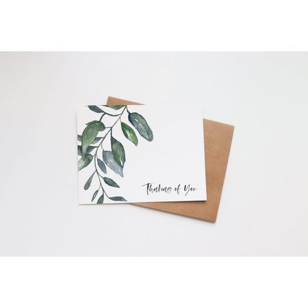 Thinking of You Succulent Mini Card