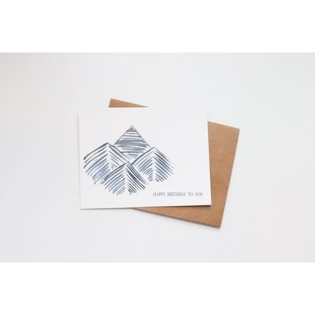 Happy Birthday To You Mini Card
