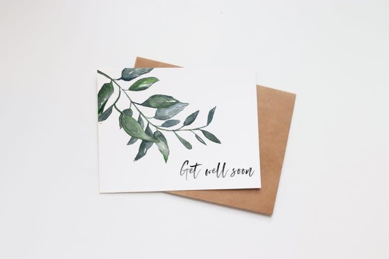 Get Well Soon Mini Card