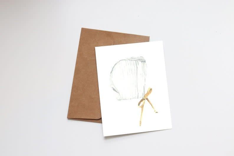 Neutral Bonnet Mini Card