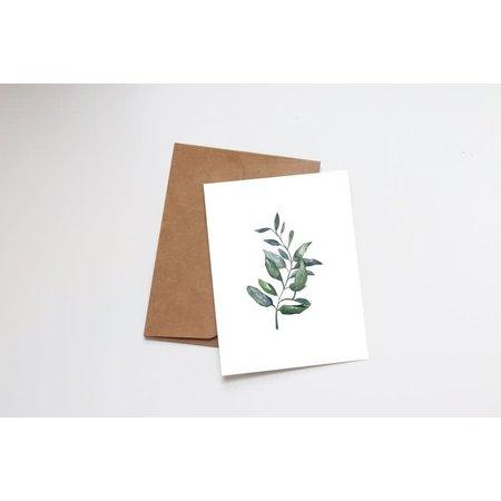Small Succulent Mini Card