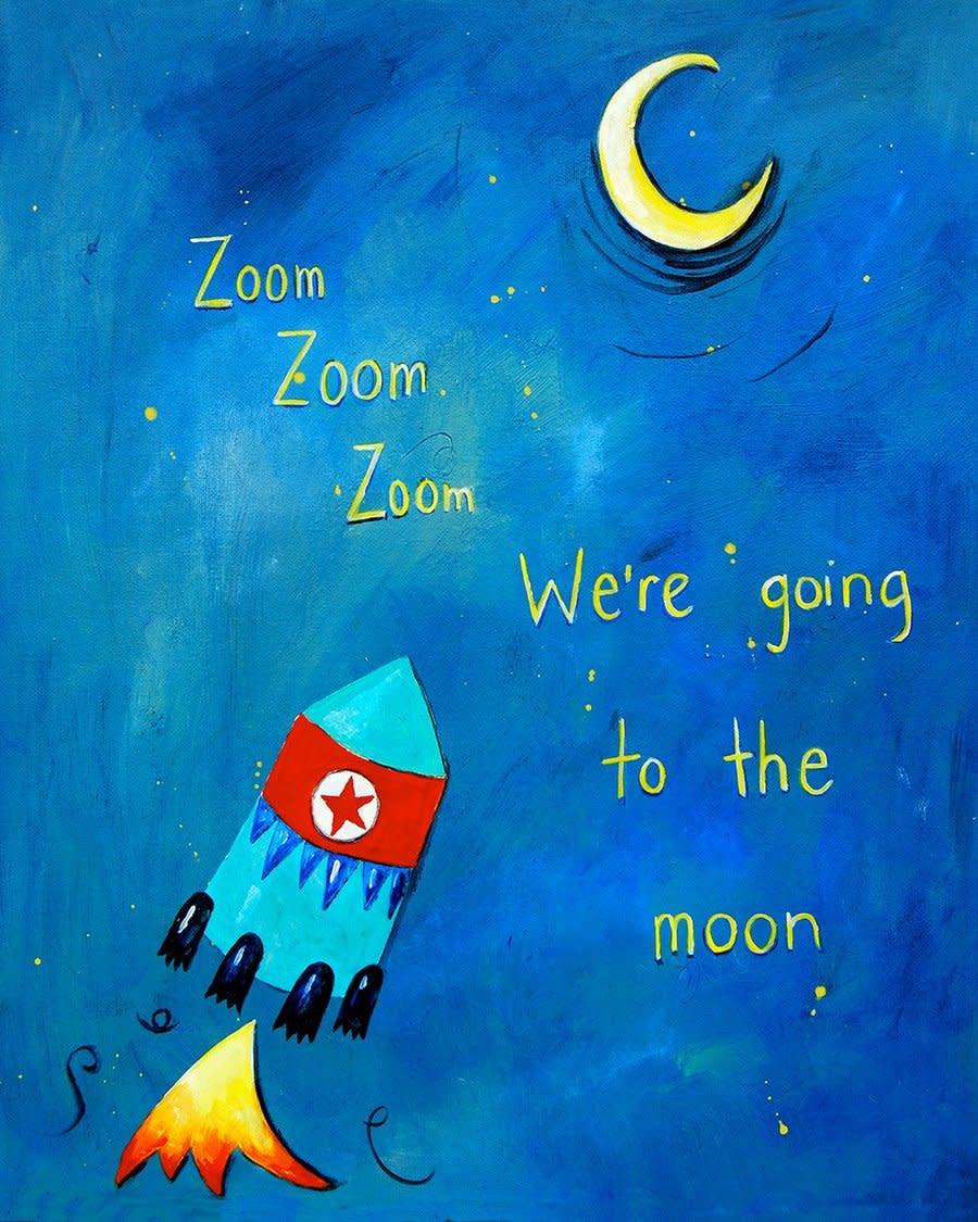Zoom Zoom Mini Card