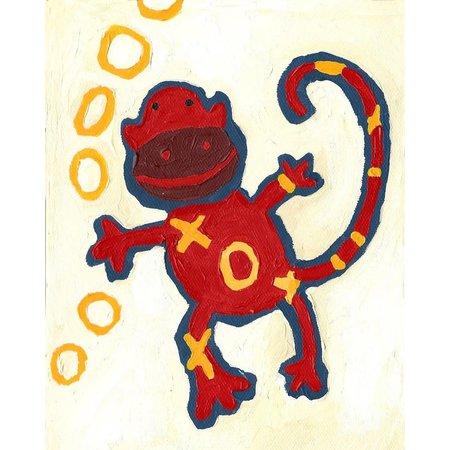 Monkey Mini Card