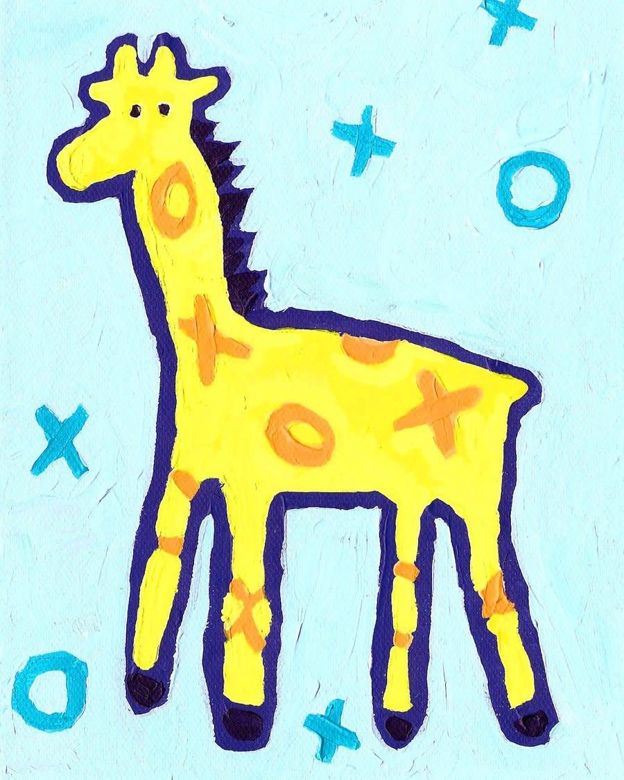 Giraffe Mini Card