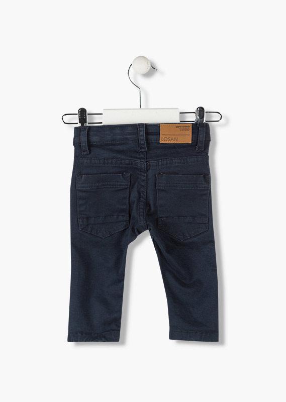 Twill 5-Pocket Pants - Navy