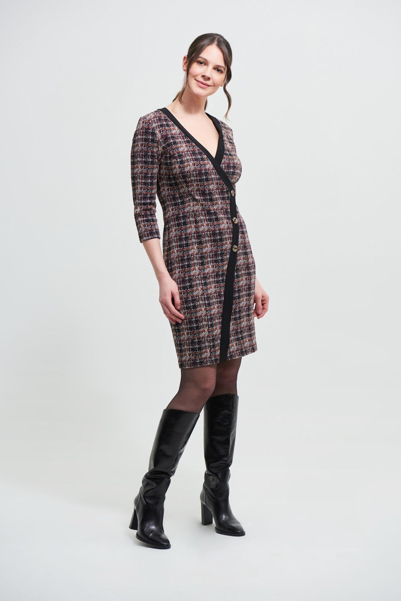 Autumn Check Dress