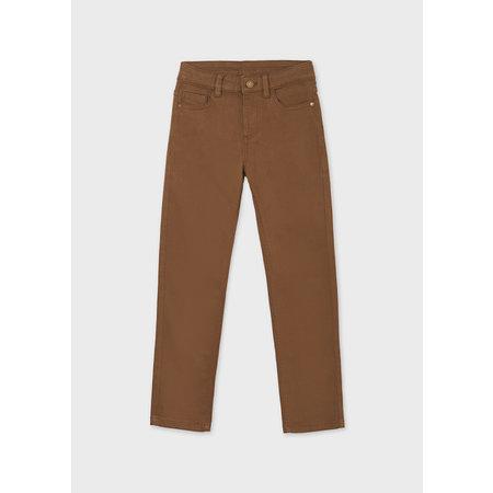 5 Pocket Slim Fit Basic Pant - Dark Camel